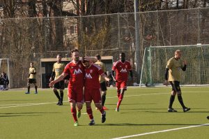 Bilyal takımının ilk golünü attı