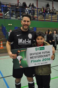 Ersin Örün ve Futbolexpress'in genç muhabiri Tuncay Köse