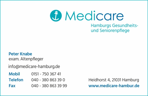 Medicare Hamburg Gesundheits- und Seniorenpflege