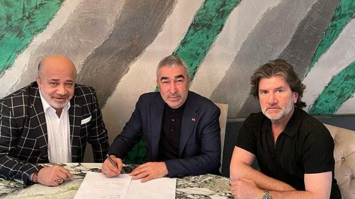 Adana Demirspor, teknik direktör Samet Aybaba ile sözleşme imzaladı