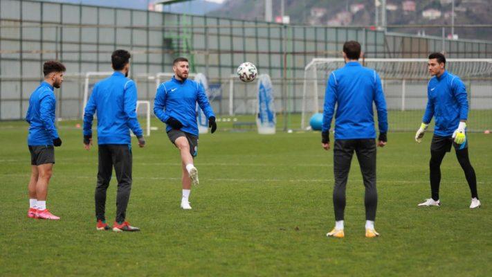 Çaykur Rizespor'da Hes Kablo Kayserispor maçı hazırlıkları