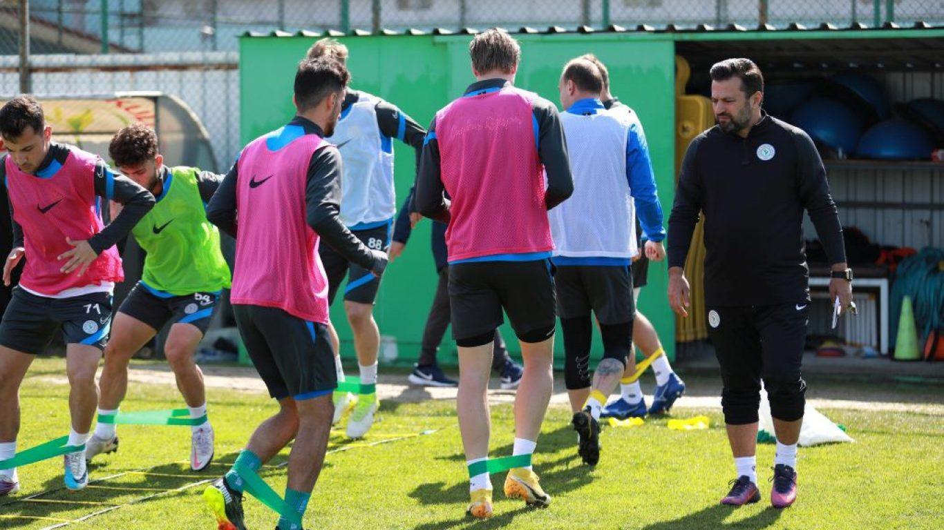 Çaykur Rizespor'da Atakaş Hatayspor maçı hazırlıkları