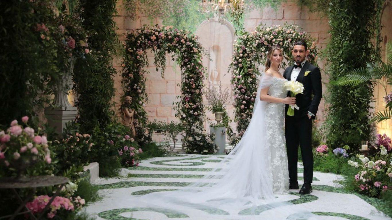 Fenerbahçeli futbolcu İrfan Can Kahveci evlendi