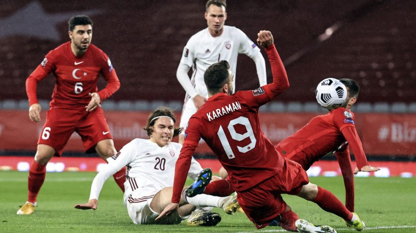 Türkiye - Letonya