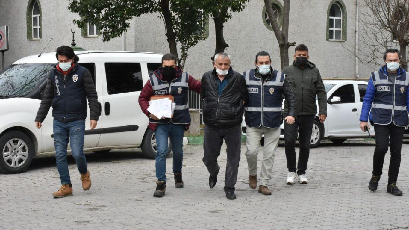 Samsun'da silahlı kavgada 1 kişiyi öldüren, 1 kişiyi yaralayan şüpheli adliyede