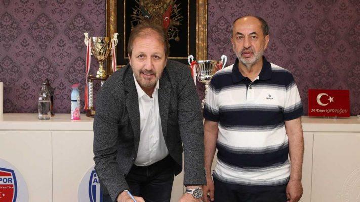 Ankaraspor, teknik direktör Taner Taşkın ile anlaştı