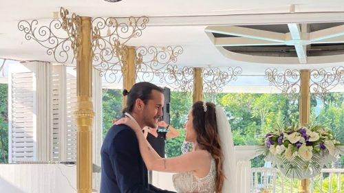 Trabzonspor'un kalecisi Erce Kardeşler evlendi