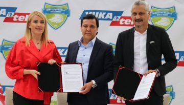 Merkezefendi Belediyesi Denizli Basket'te sponsorluk anlaşması