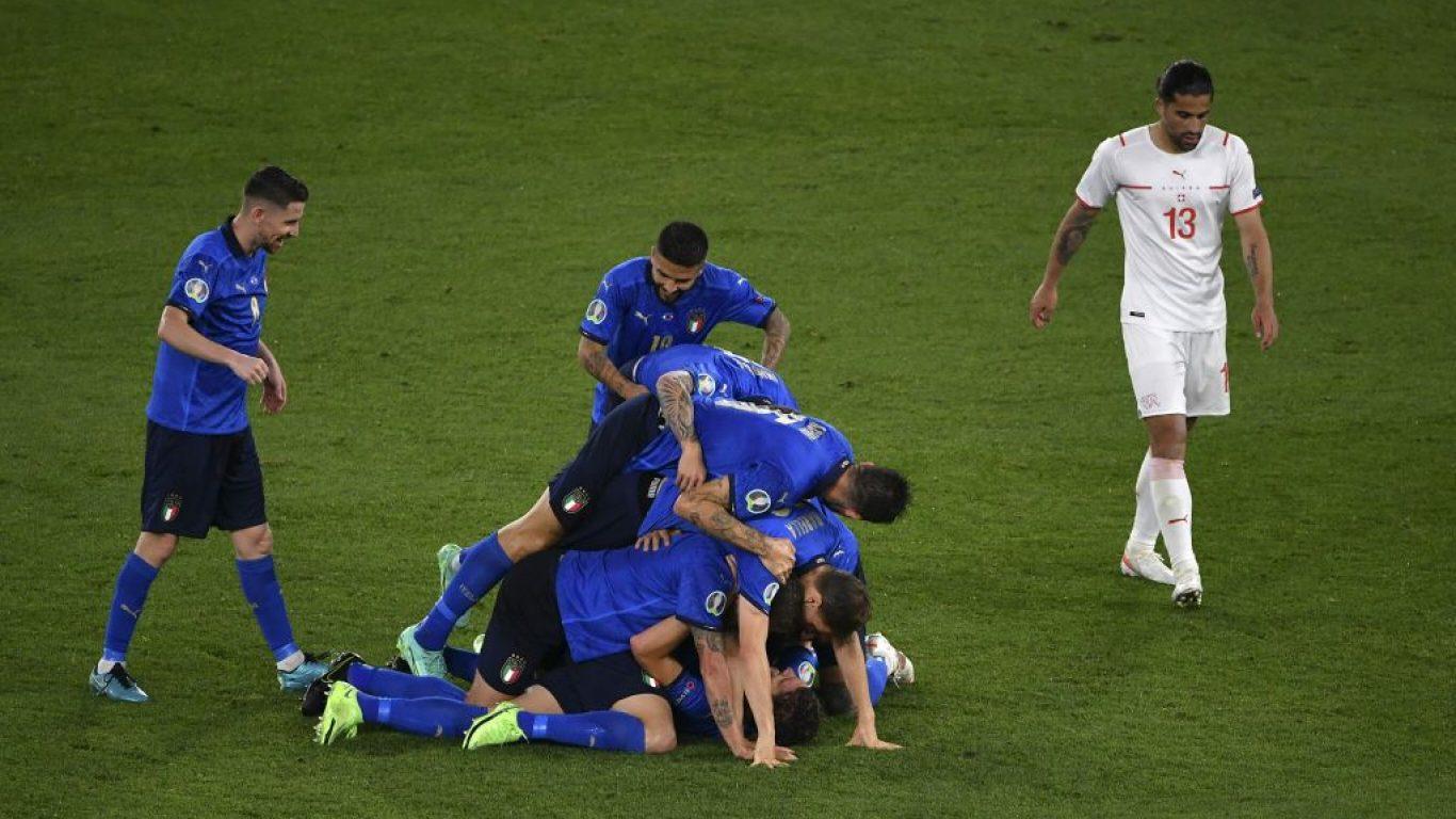 Italy v Switzerland football friendly match