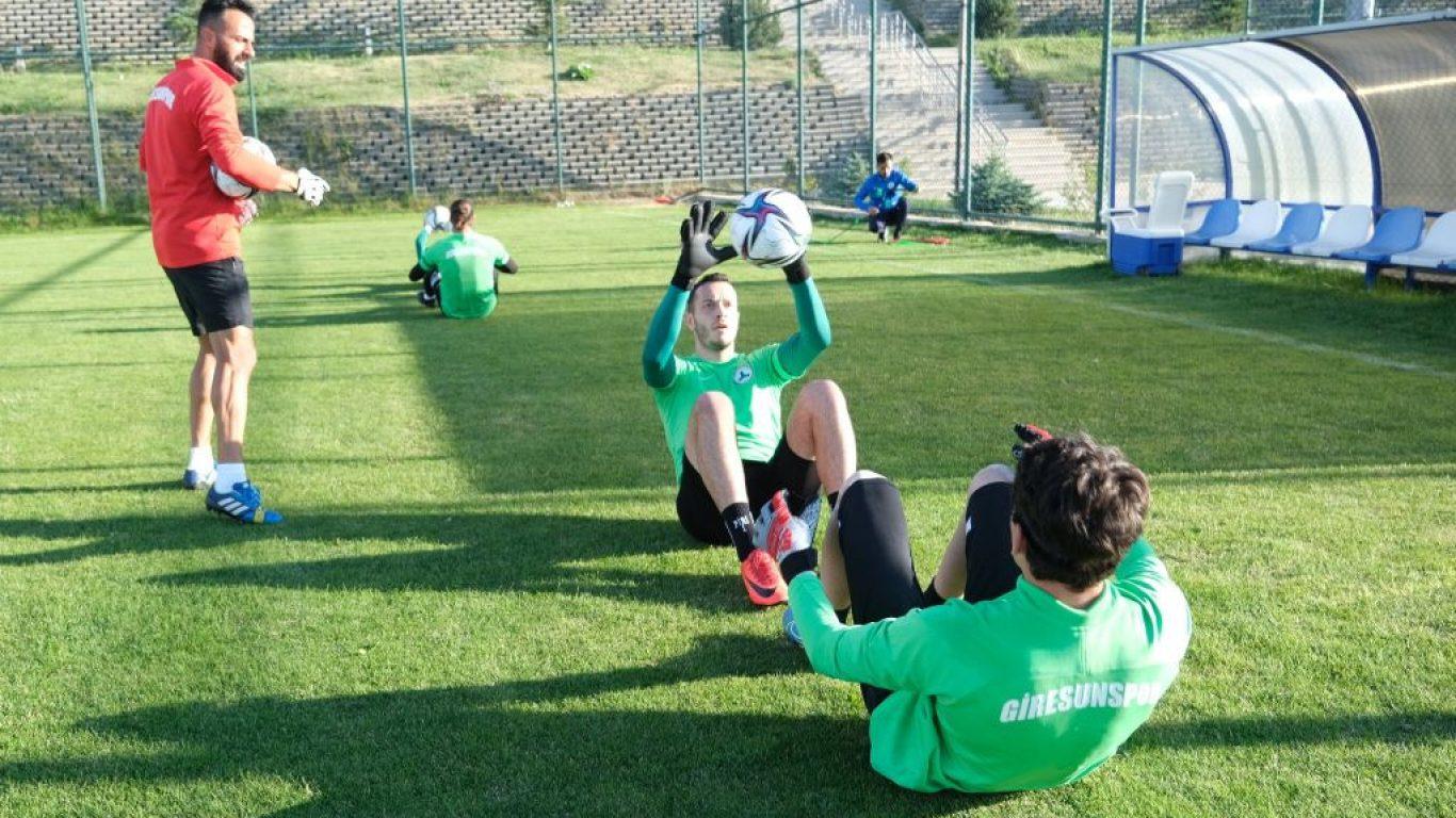 GZT Giresunspor, yeni sezon hazırlıklarını sürdürdü