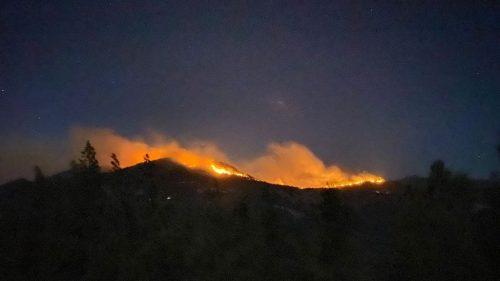 Antalya'nın Gazipaşa ilçesinde orman yangını başladı