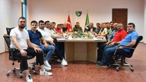 Denizlispor'da yönetim kurulu görev dağılımı yaptı