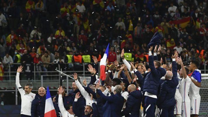 Spain v France UEFA Nations League football tournament final match